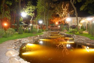 Like yourself, with your own hands, to conduct lighting fountain, pond or pool. Photo and step by step instructions