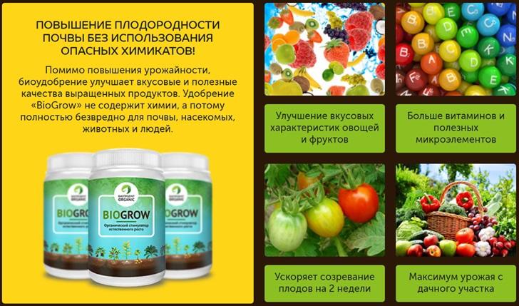 biogrow удобрение отзывы