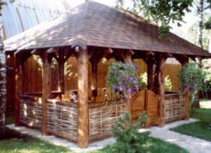 Types of country pavilions photos. Pavilions for landscaping a garden plot. Pergola for questioning